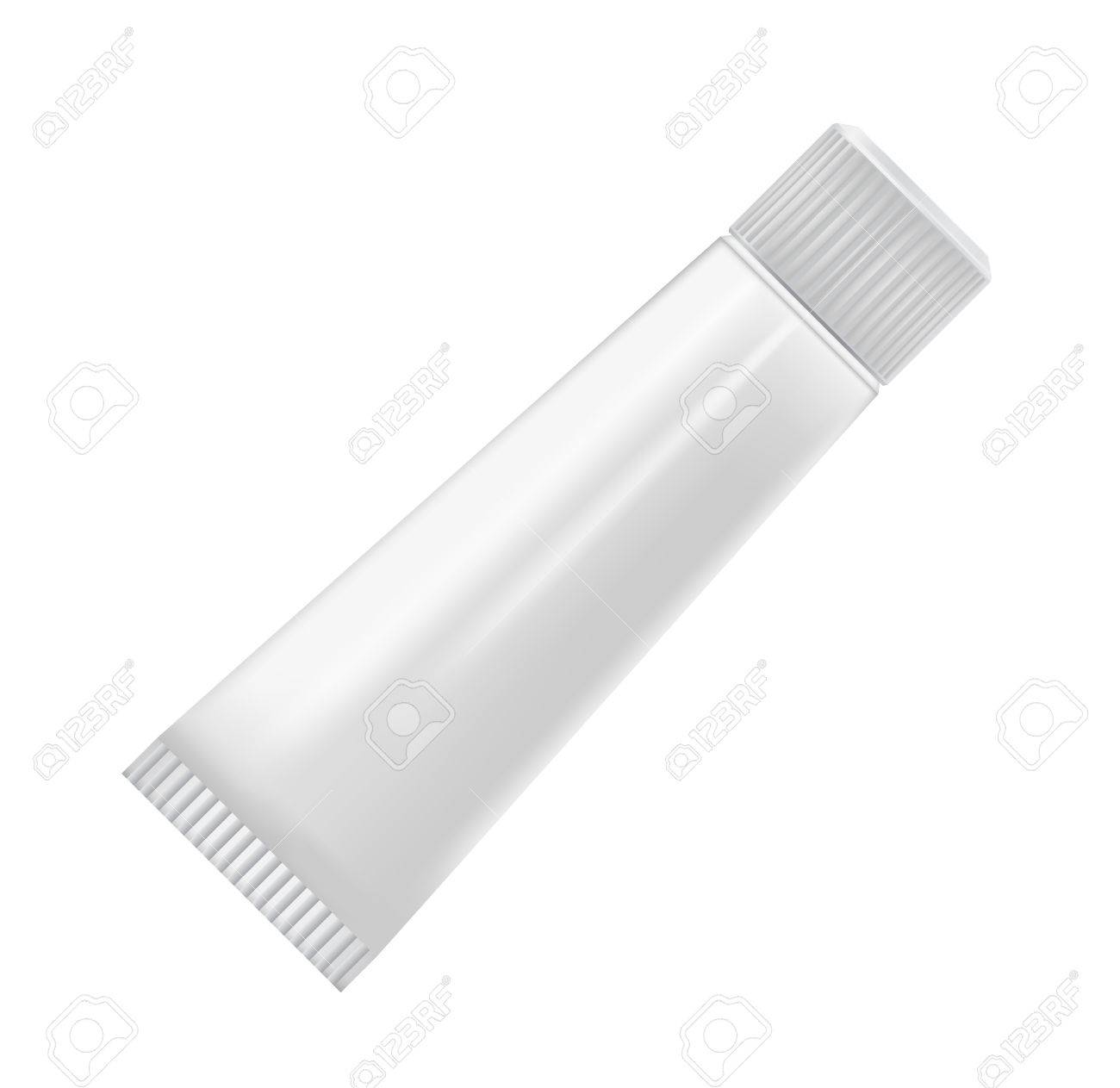 cosmetic containers isolated on white Stock Vector - 13920700