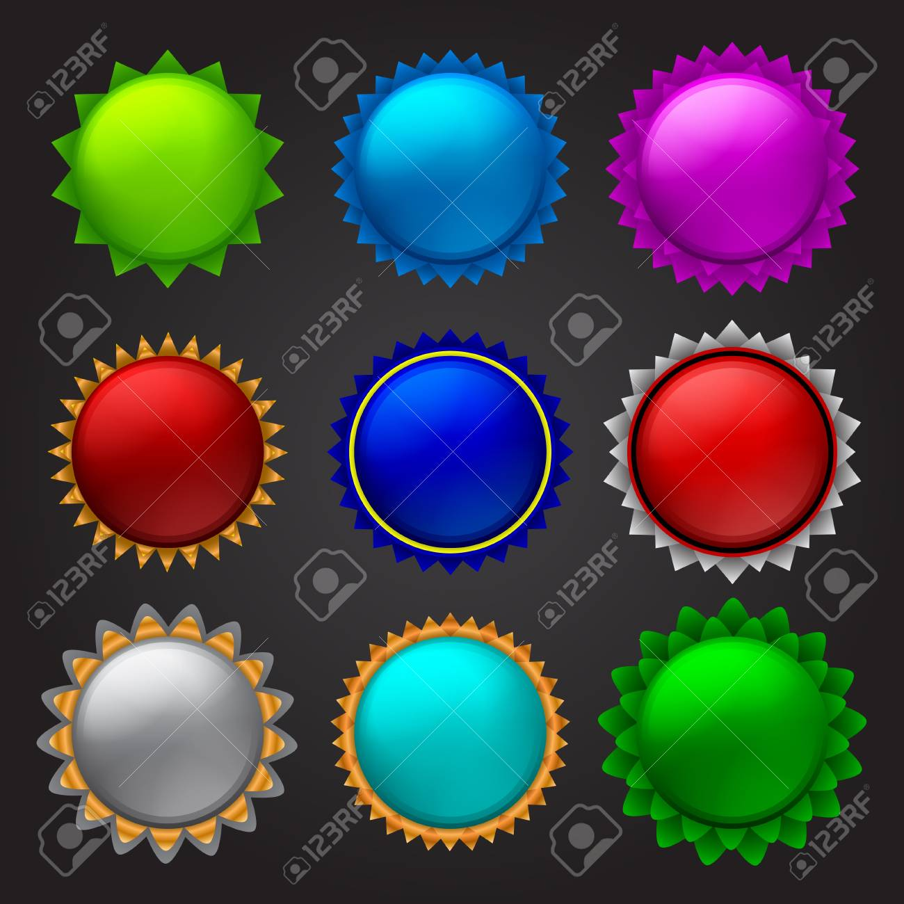 sale stickers Stock Vector - 16956629