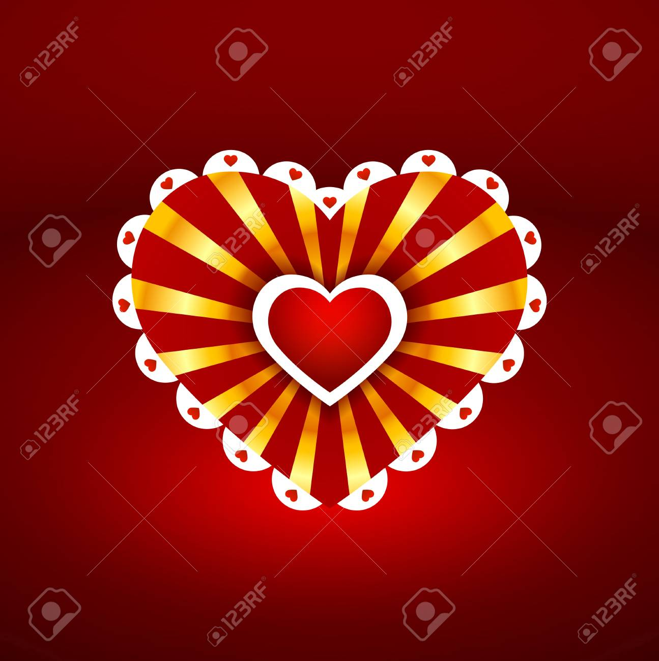 one heart to another Stock Vector - 17670786