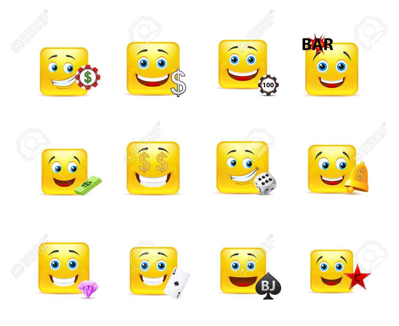 Gambling smiley faces how to win at the casino