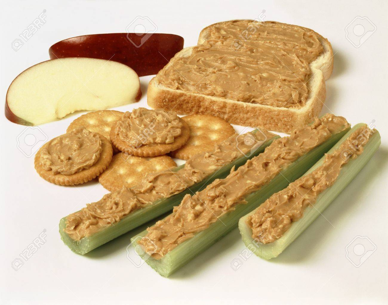 http://previews.123rf.com/images/stockfood/stockfood1409/stockfood140900791/31224382-Celery-white-bread-and-crackers-with-peanut-butter-Stock-Photo.jpg
