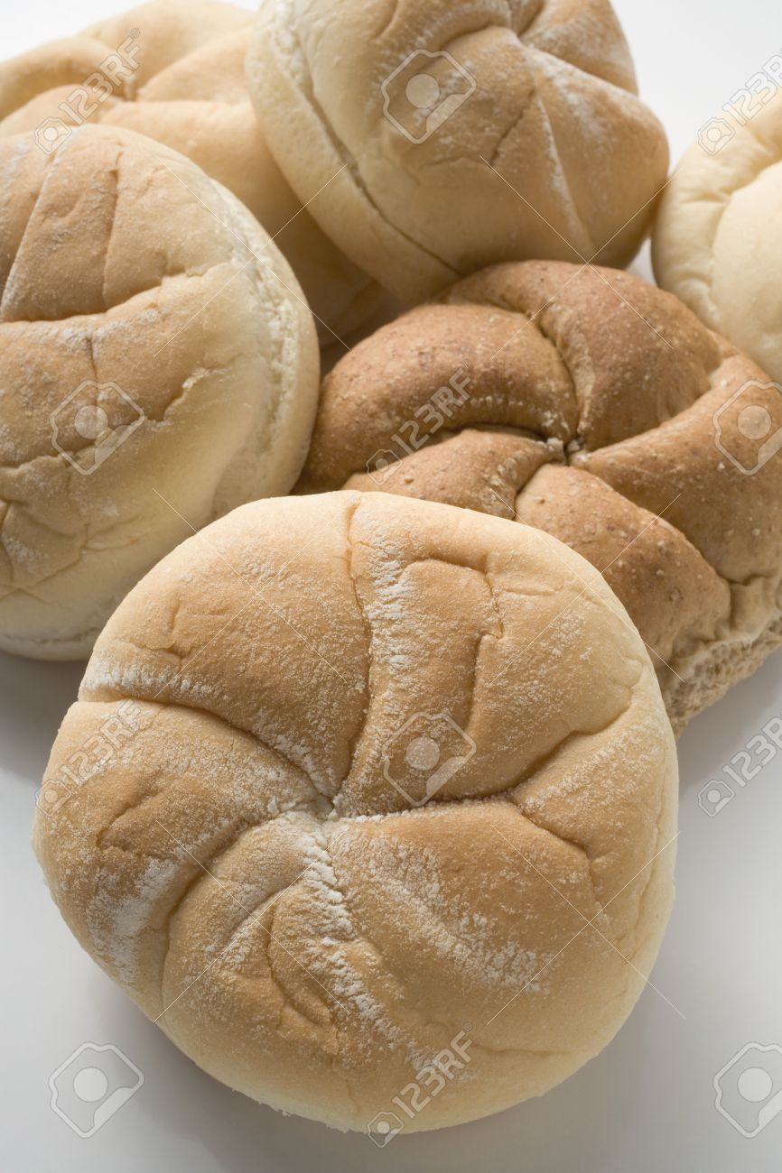 Various Types Of Bread Rolls Stock Photo Picture And Royalty Free