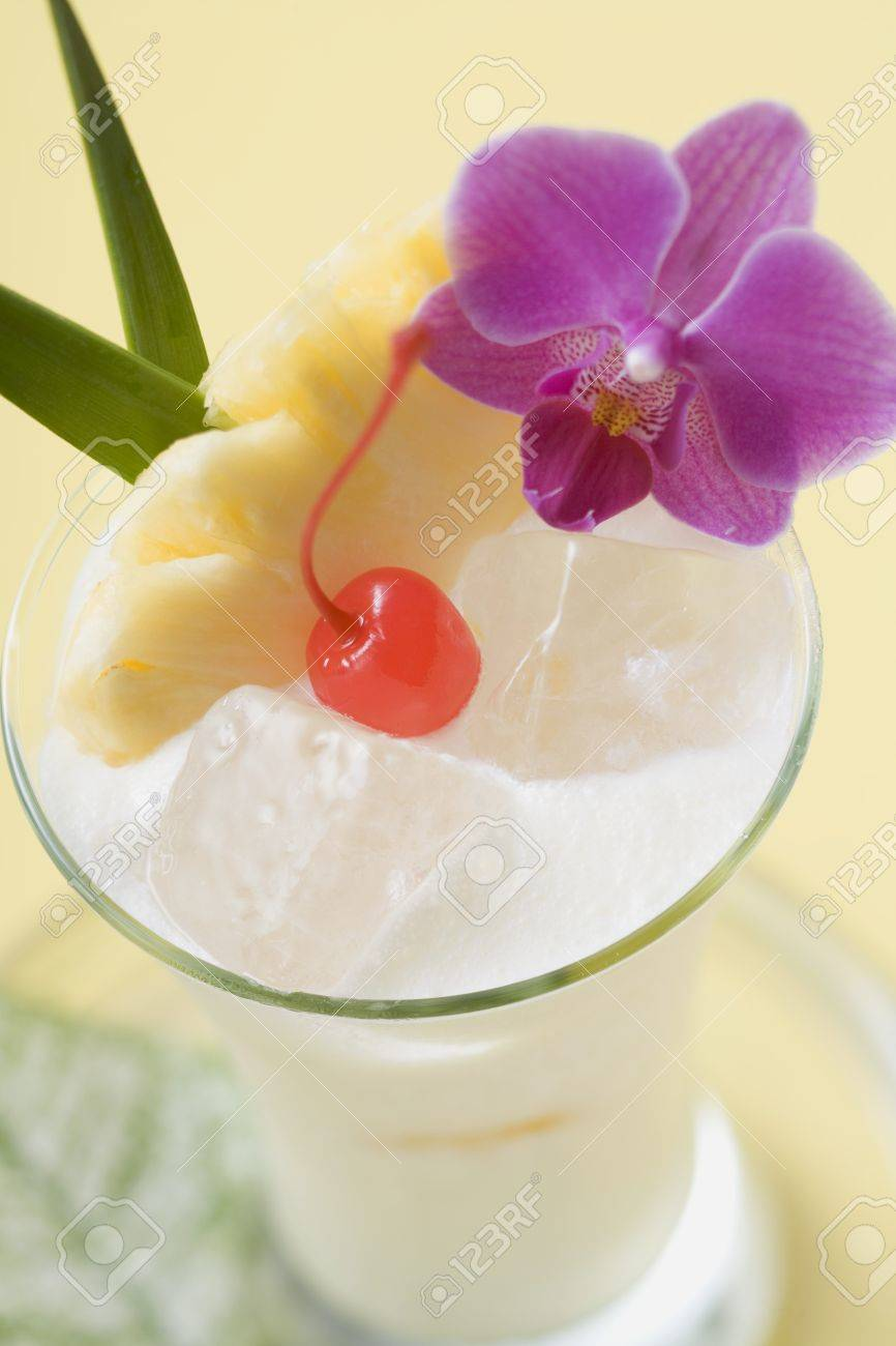 Piña Colada In A Pineapple