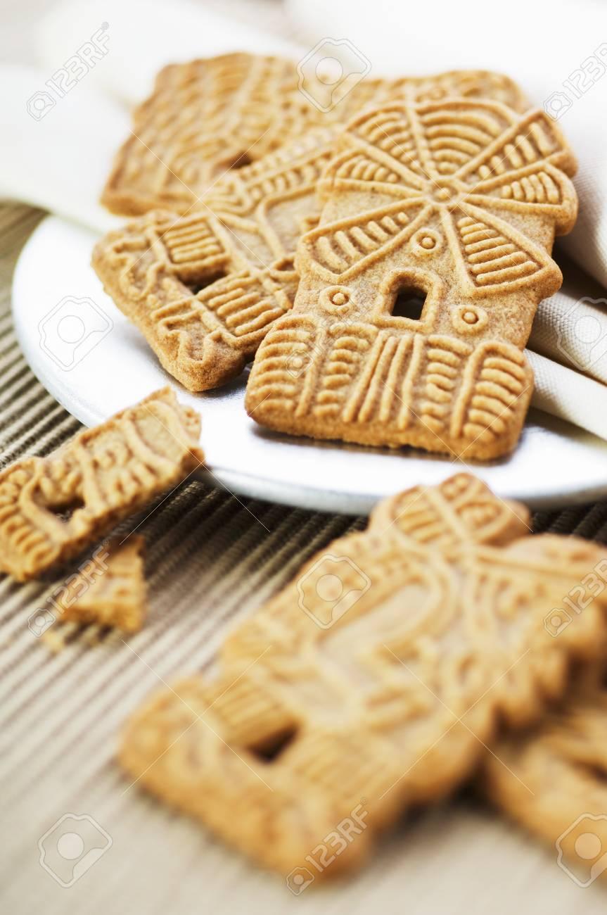 Several Spekulatius Cookies