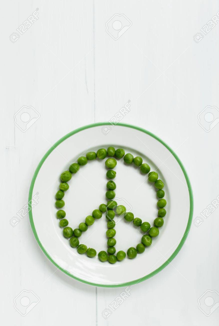 A peace sign made out of peas stock photo picture and royalty a peace sign made out of peas stock photo 32685100 biocorpaavc Gallery
