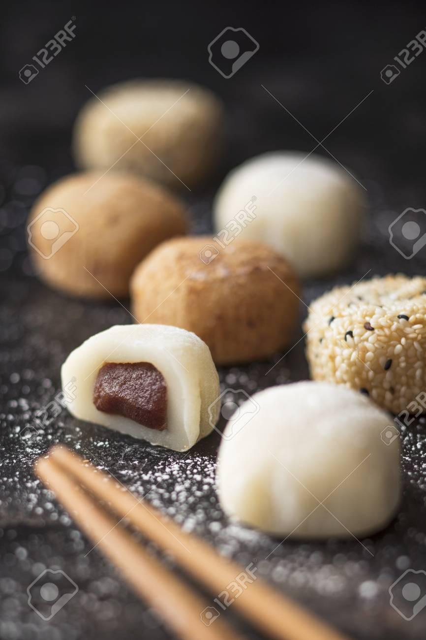 Mochi (sticky rice cakes, Japan)