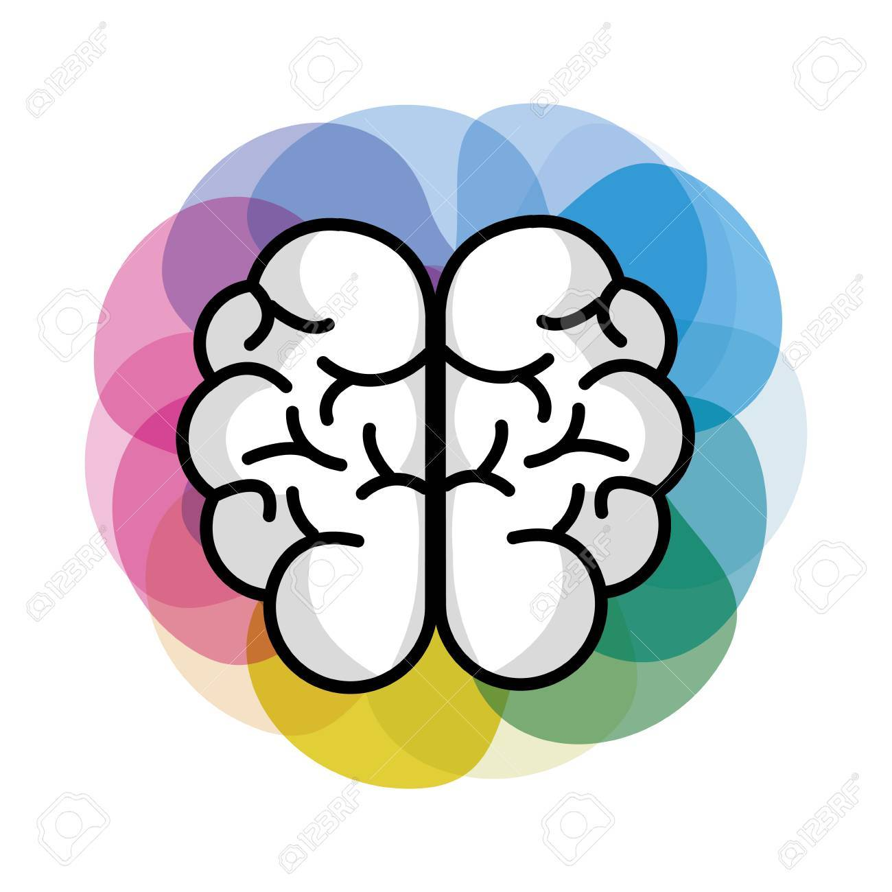 Mental Health Brain Art Royalty Free Cliparts Vectors And Stock Illustration Image 77229111