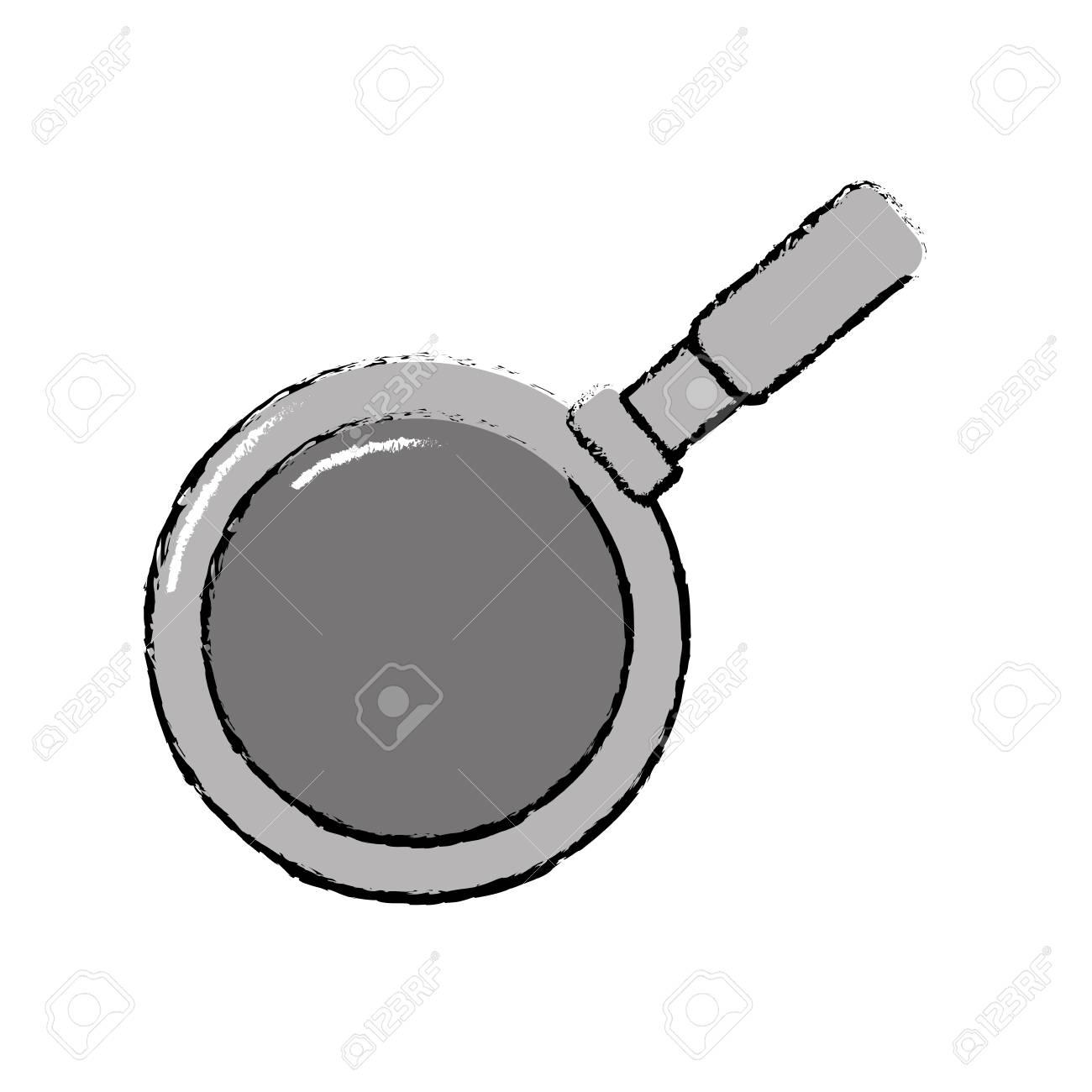 Metalic Skillet Pan Kitchen Utensil Royalty Free Cliparts, Vectors ...
