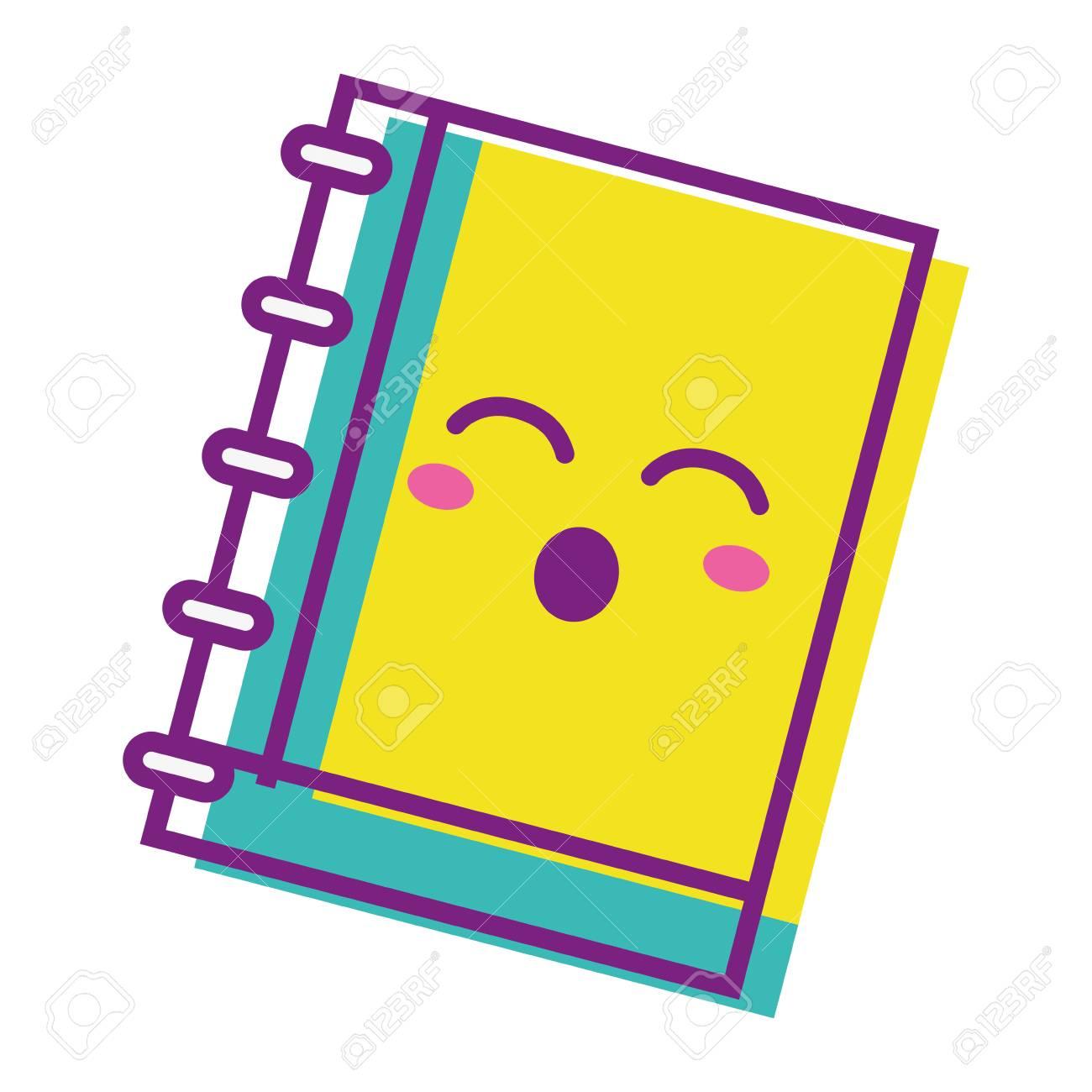 Kawaii Mignon Outil De Cahier Drole Clip Art Libres De Droits Vecteurs Et Illustration Image 83422605