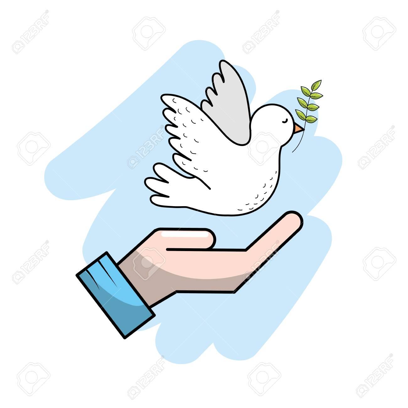 世界平和世界の調和の精神にベクトル イラストのイラスト素材ベクタ