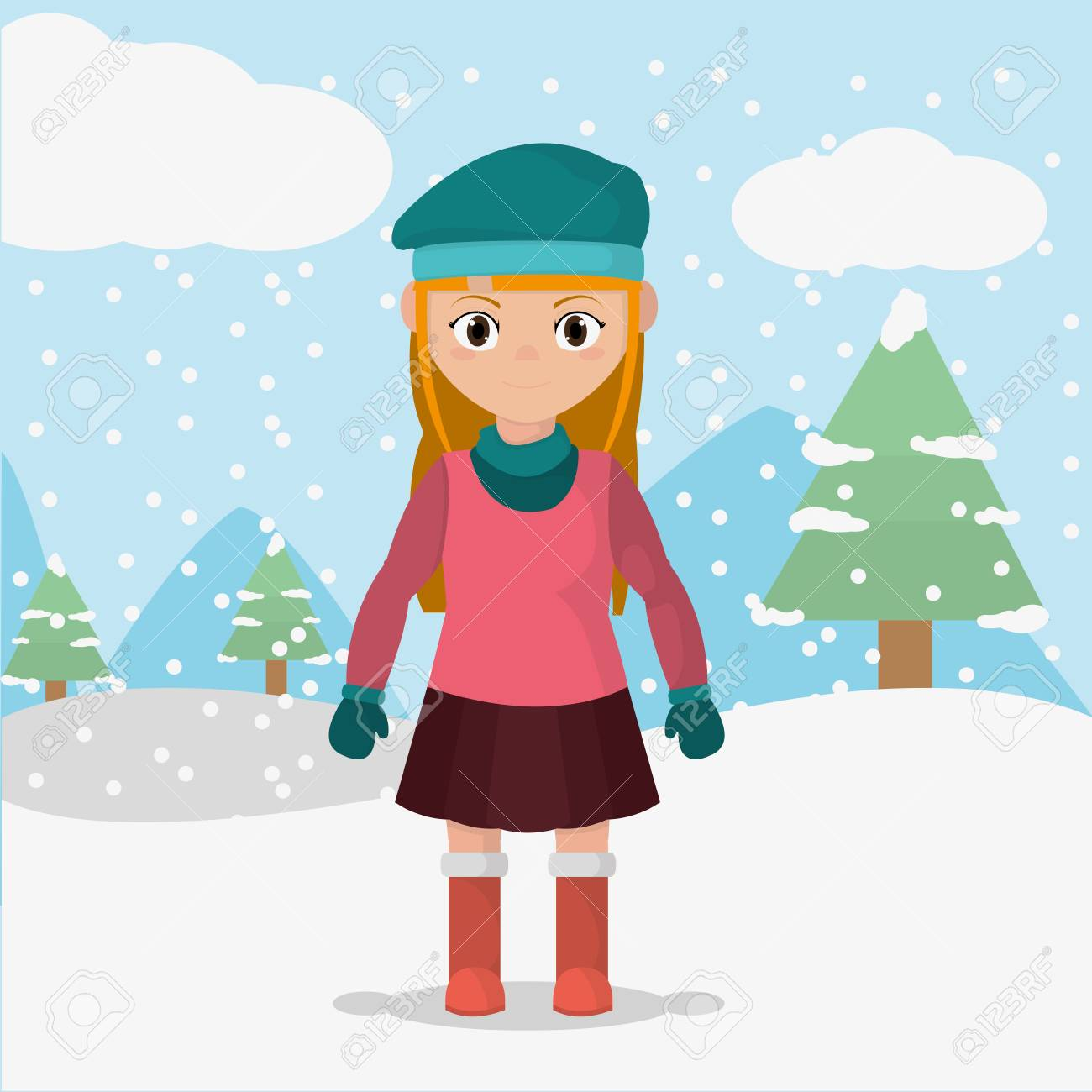 Winter Cold Clip Art