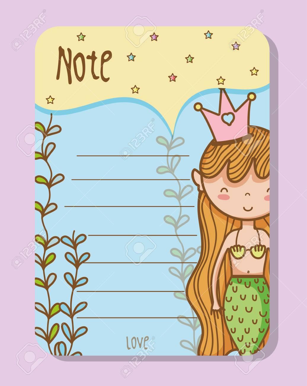 Colorful Printable Sheets Of Mermaid Princess Royalty Free Cliparts ...