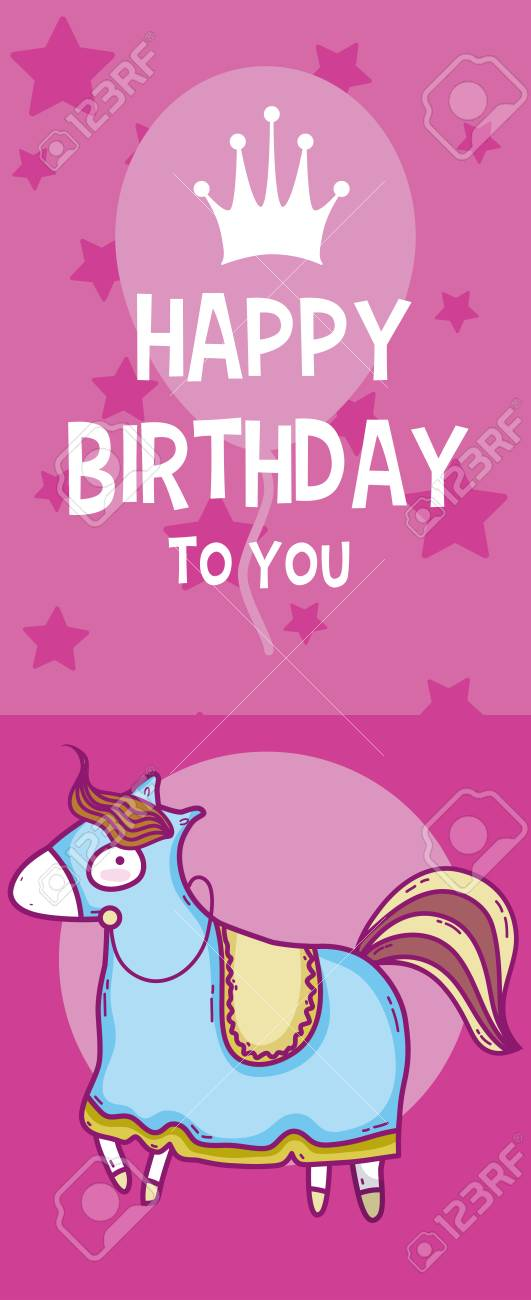 Happy Birthday Card For Boys Royalty Free Cliparts Vectors And