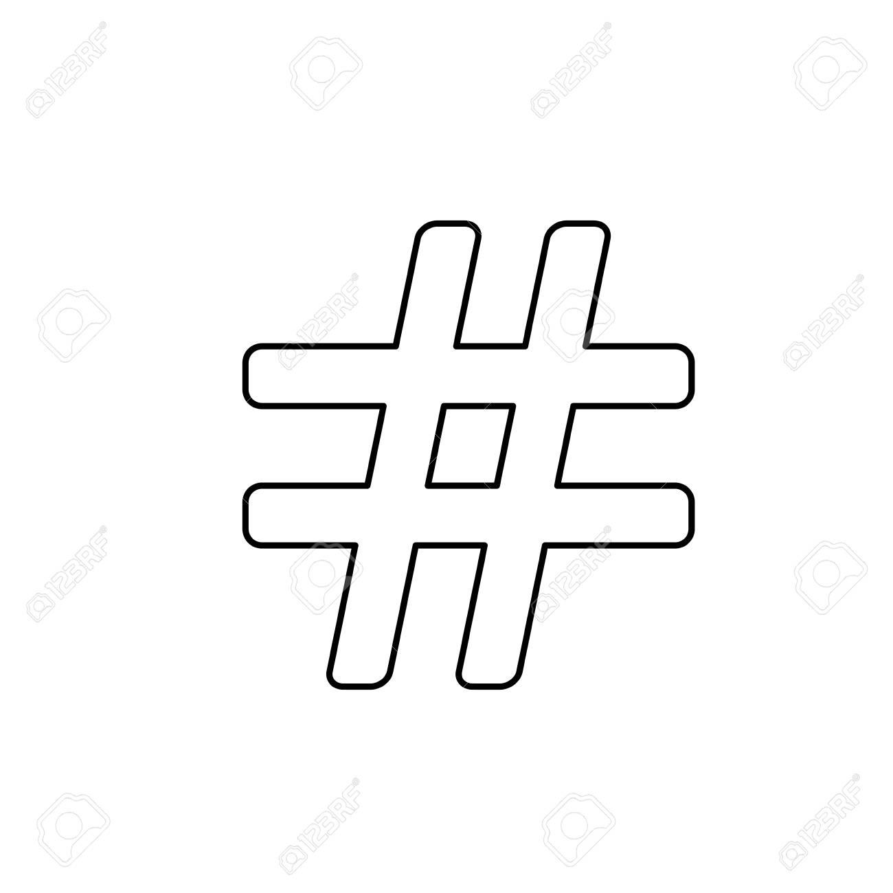 Line Numeral Symbol Design Type Icon Royalty Free Cliparts Vectors