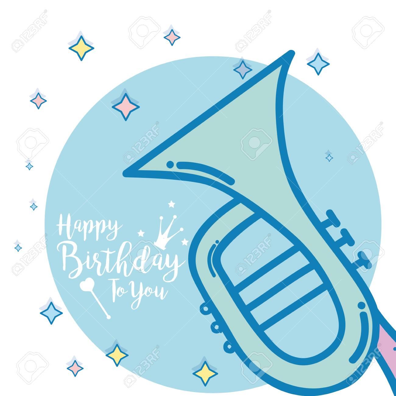 Happy Birthday Card Clip Art Libres De Droits Vecteurs Et