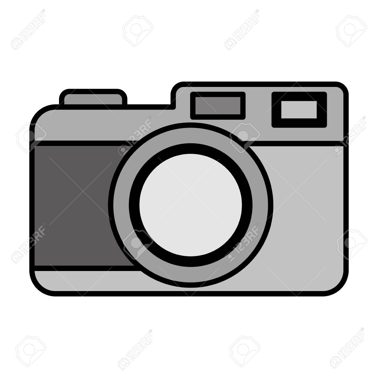 Color Digital Camera Electronic Object Technology Vector Illustration Royalty Free Cliparts Vectors And Stock Illustration Image 111770466
