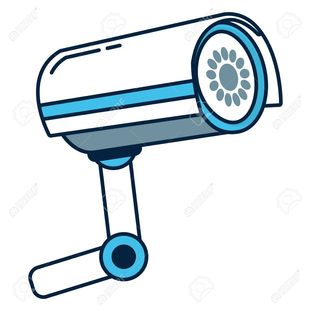 Security Camera Graphic