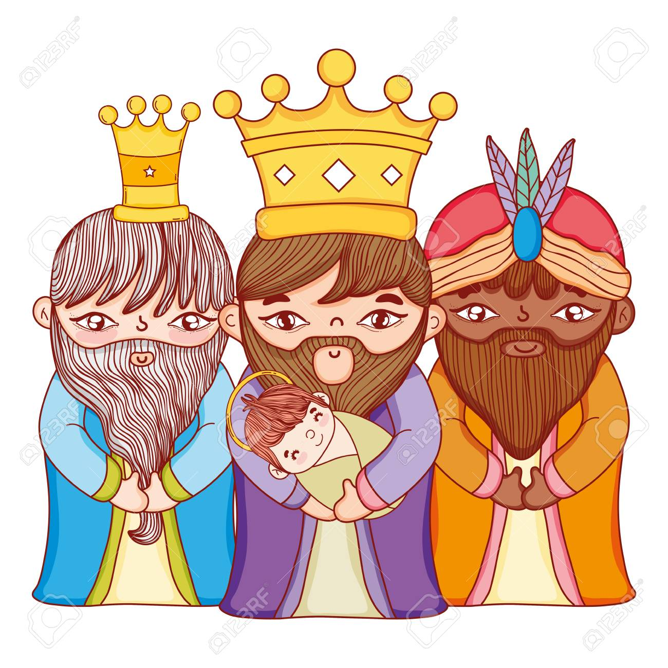 Christmas Nativity Scene Cartoon Royalty Free Cliparts Vectors And Stock Illustration Image 110809938 Are you searching for cartoon crown png images or vector? christmas nativity scene cartoon