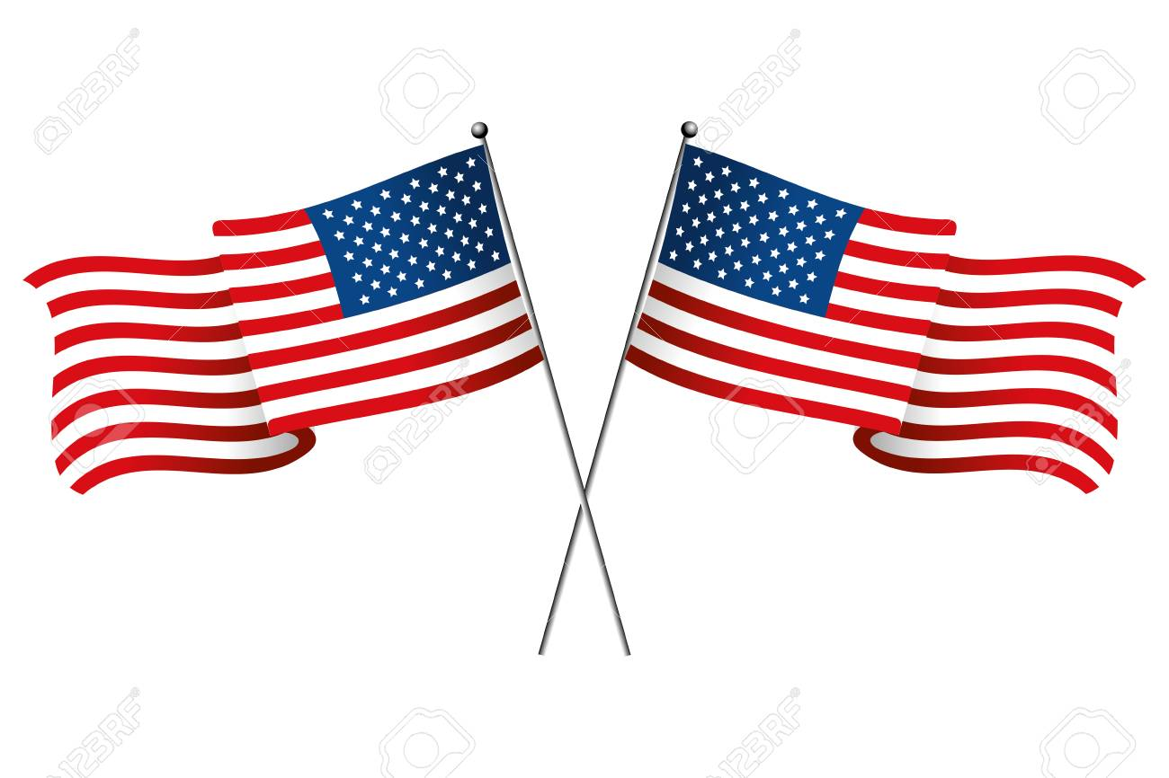 united state flag icon cartoon isolated vector illustration graphic design - 121373895