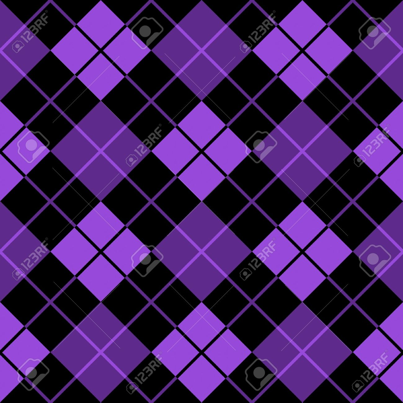 argyle purple seamless background Stock Photo - 9748295