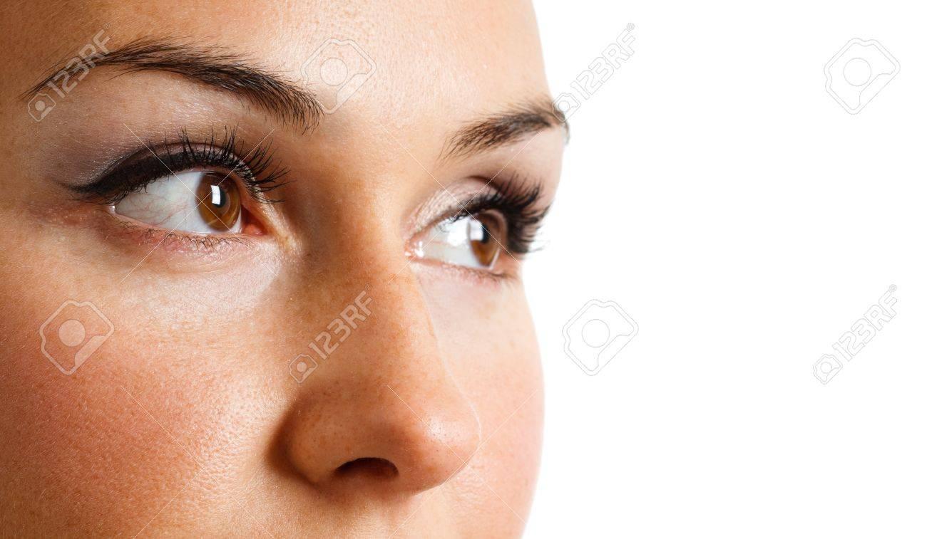 Close-up portrait of a beautiful woman Stock Photo - 14870307