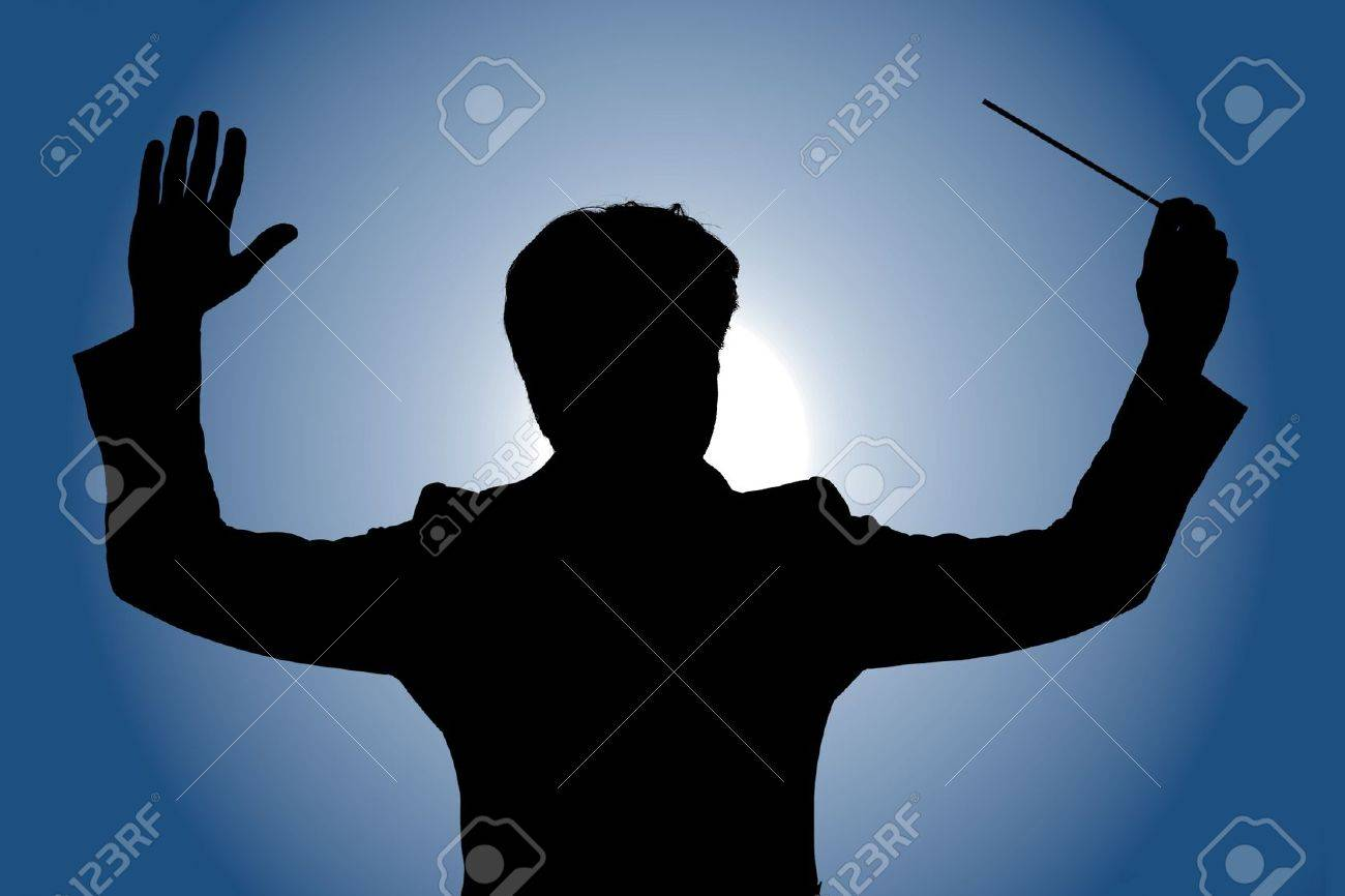 An orchestra leader during a concert Stock Photo - 15272730