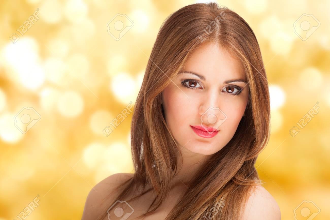 Portrait of a beautiful woman Stock Photo - 18525077