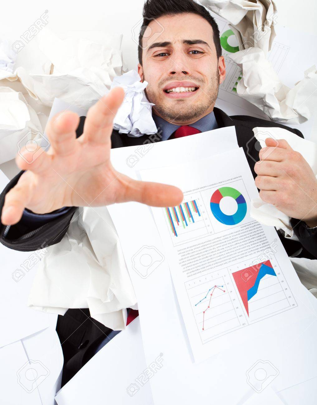 Office mess Stock Photo - 18665017