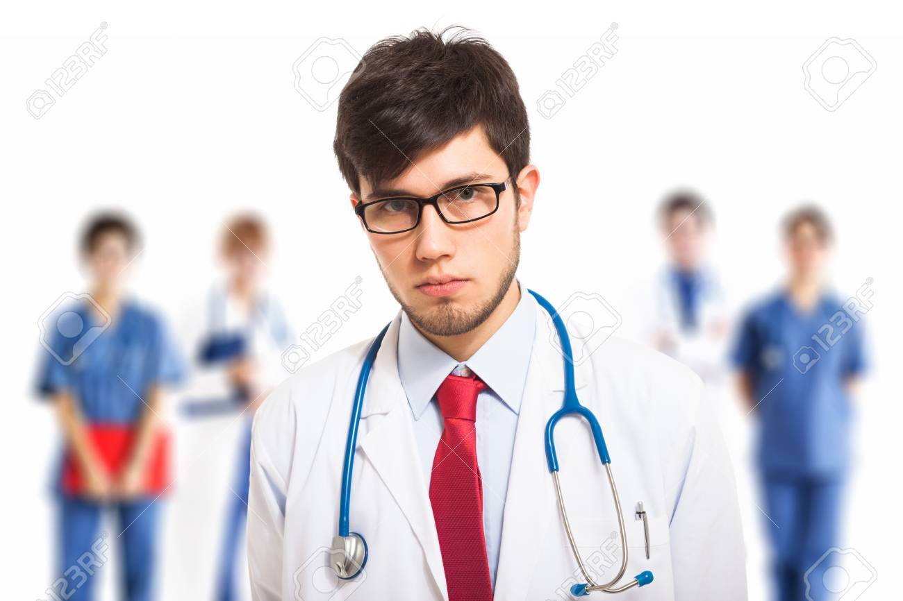 Portrait of a confident doctor Stock Photo - 27647416