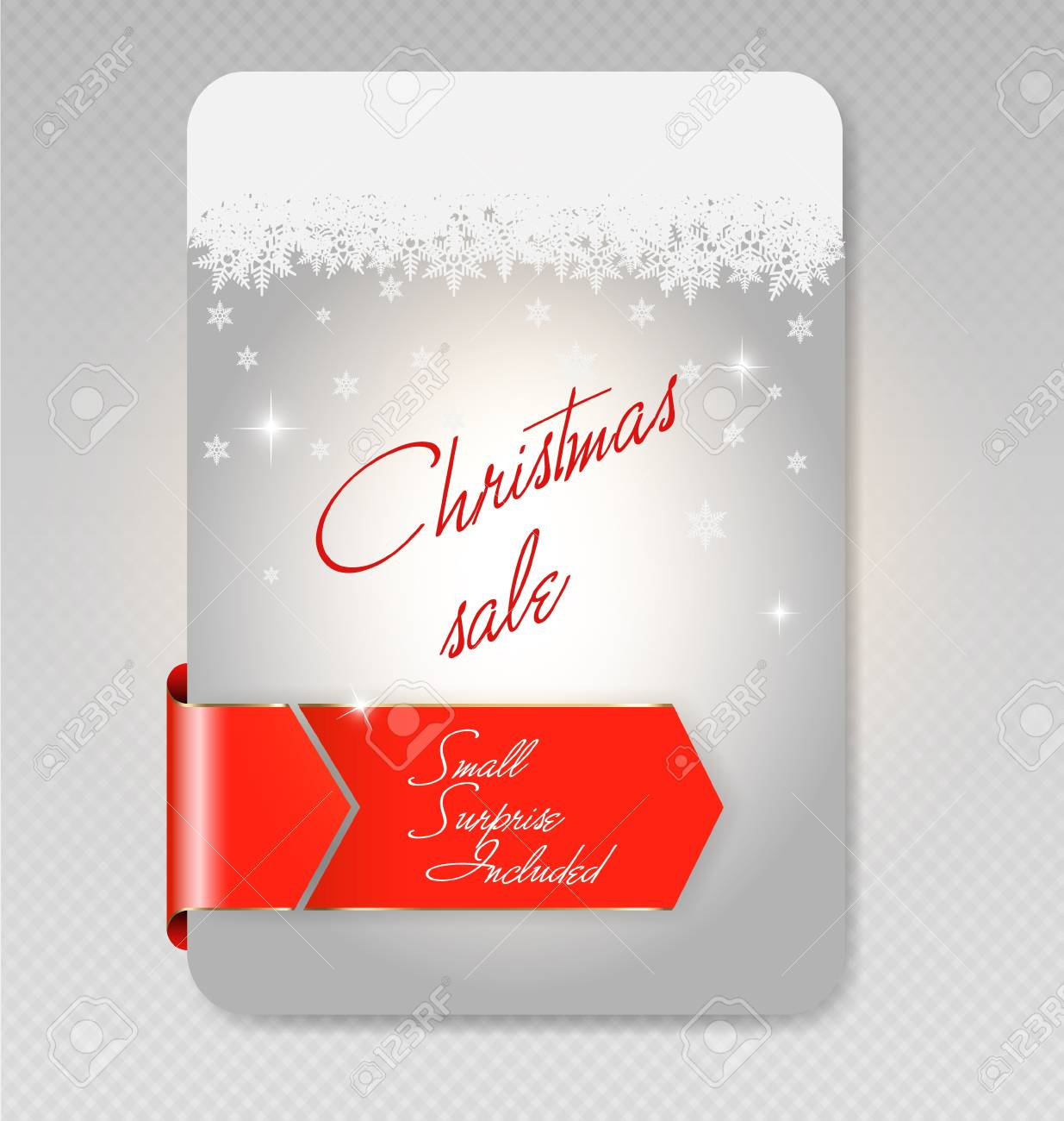 illustration of Christmas sale card Stock Vector - 16160677