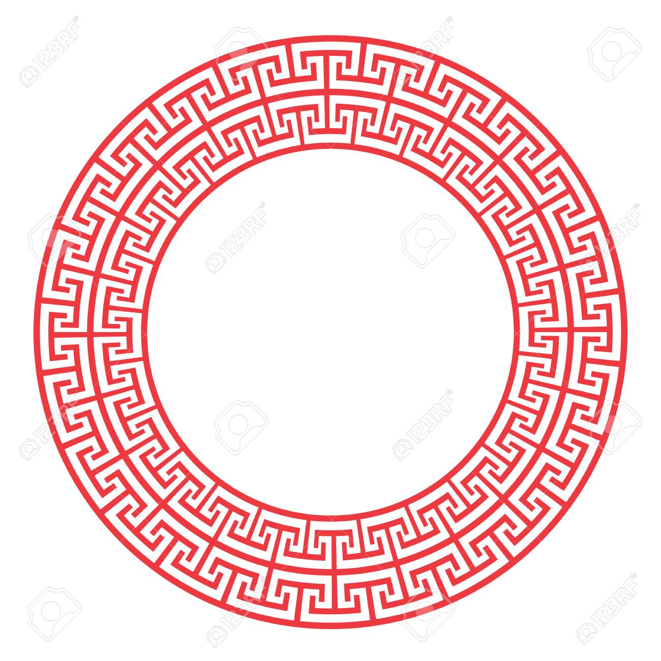 Red China Frame Vector Design. Royalty Free Cliparts, Vectors, And ...