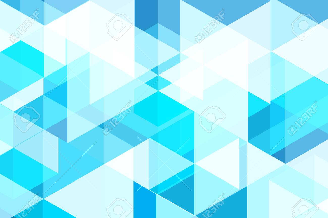 Blue Abstract Background Vector Design