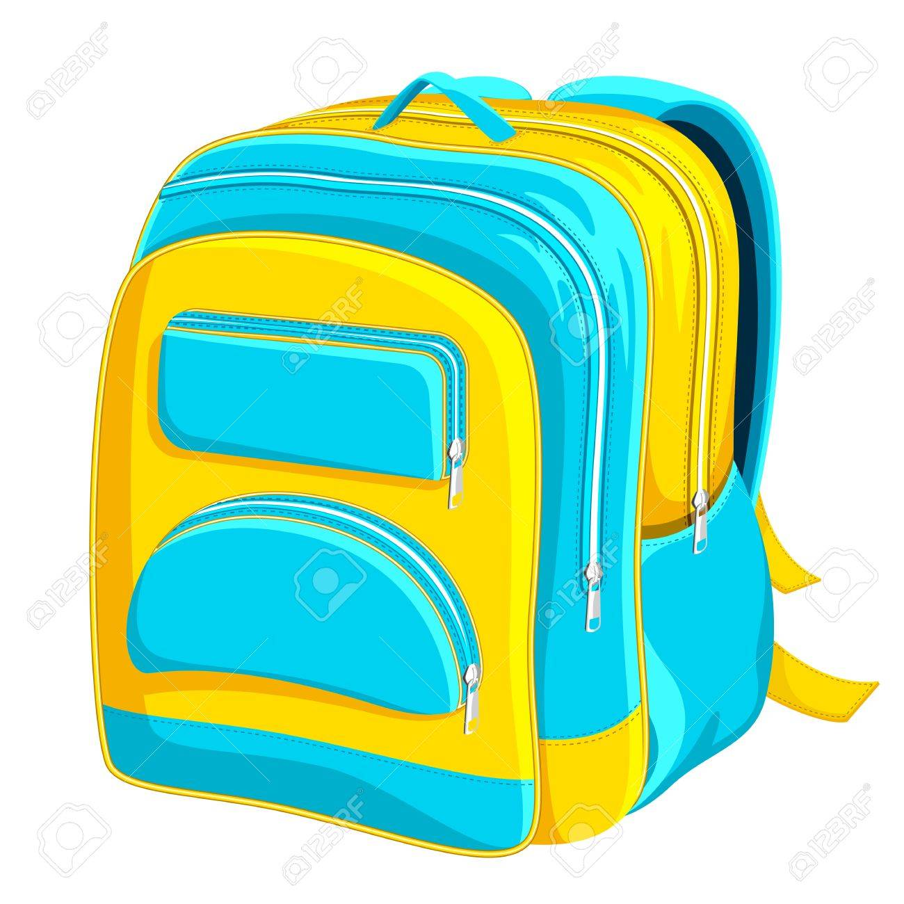 School Bag Stock Vector - 12438109
