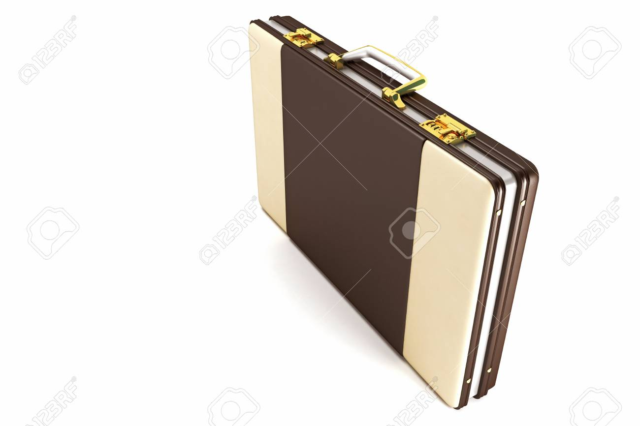 Leather Briefcase Stock Photo - 12997528
