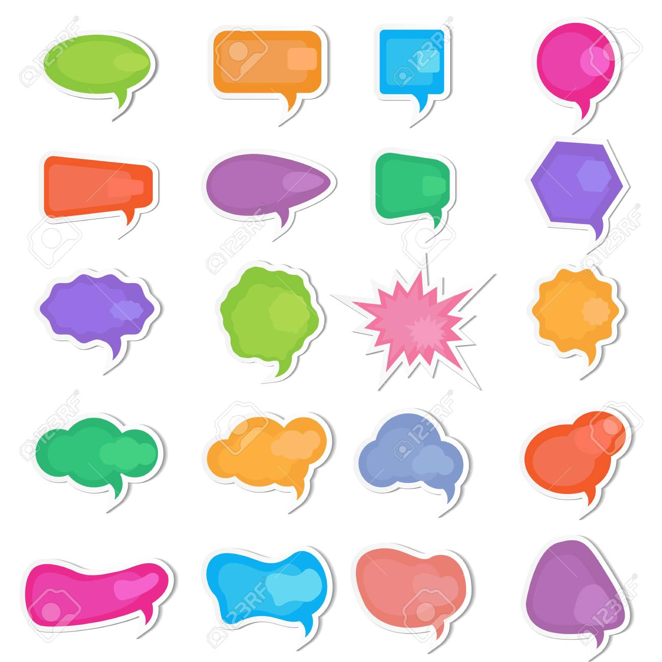 Chat Bubble Stock Vector - 13246337