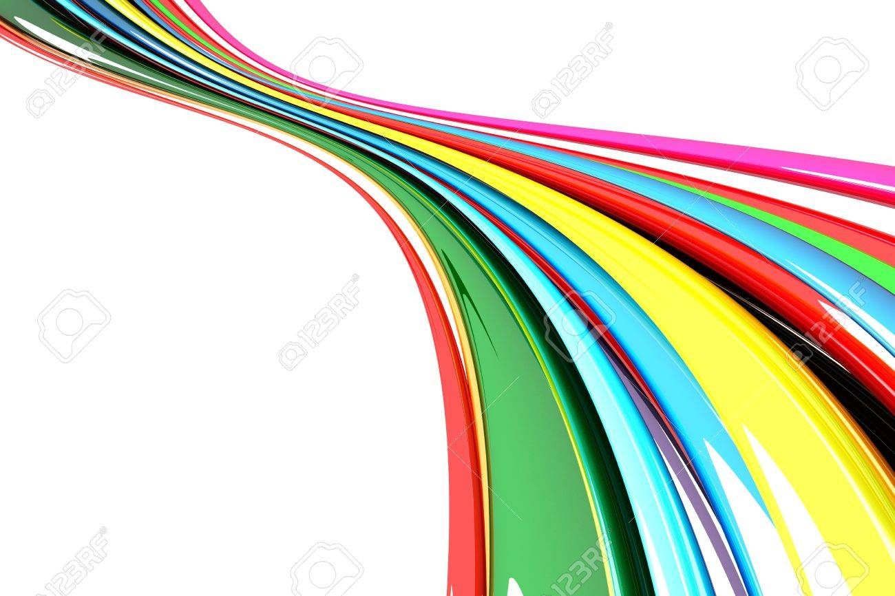 3d Colorful  Background Stock Photo - 13406124
