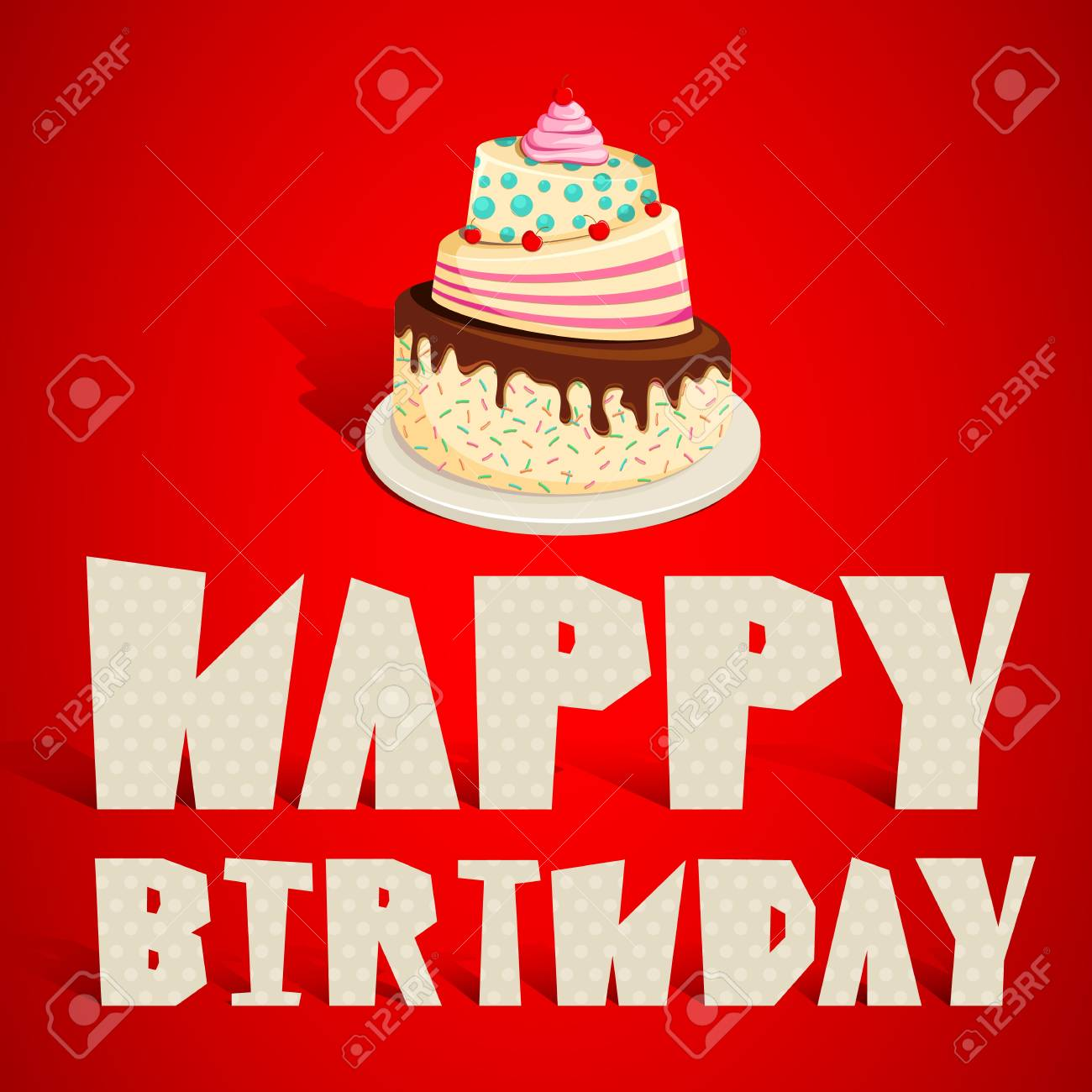 Happy Birthday Stock Vector - 13533430