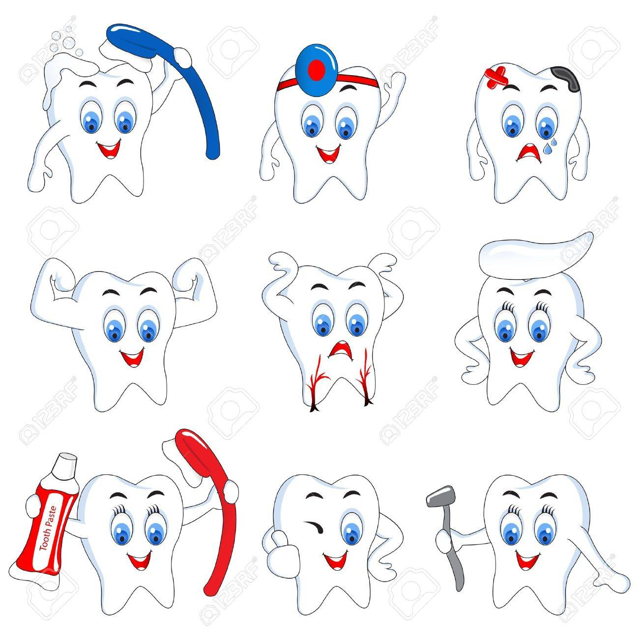 Tooth Activity - 13955599