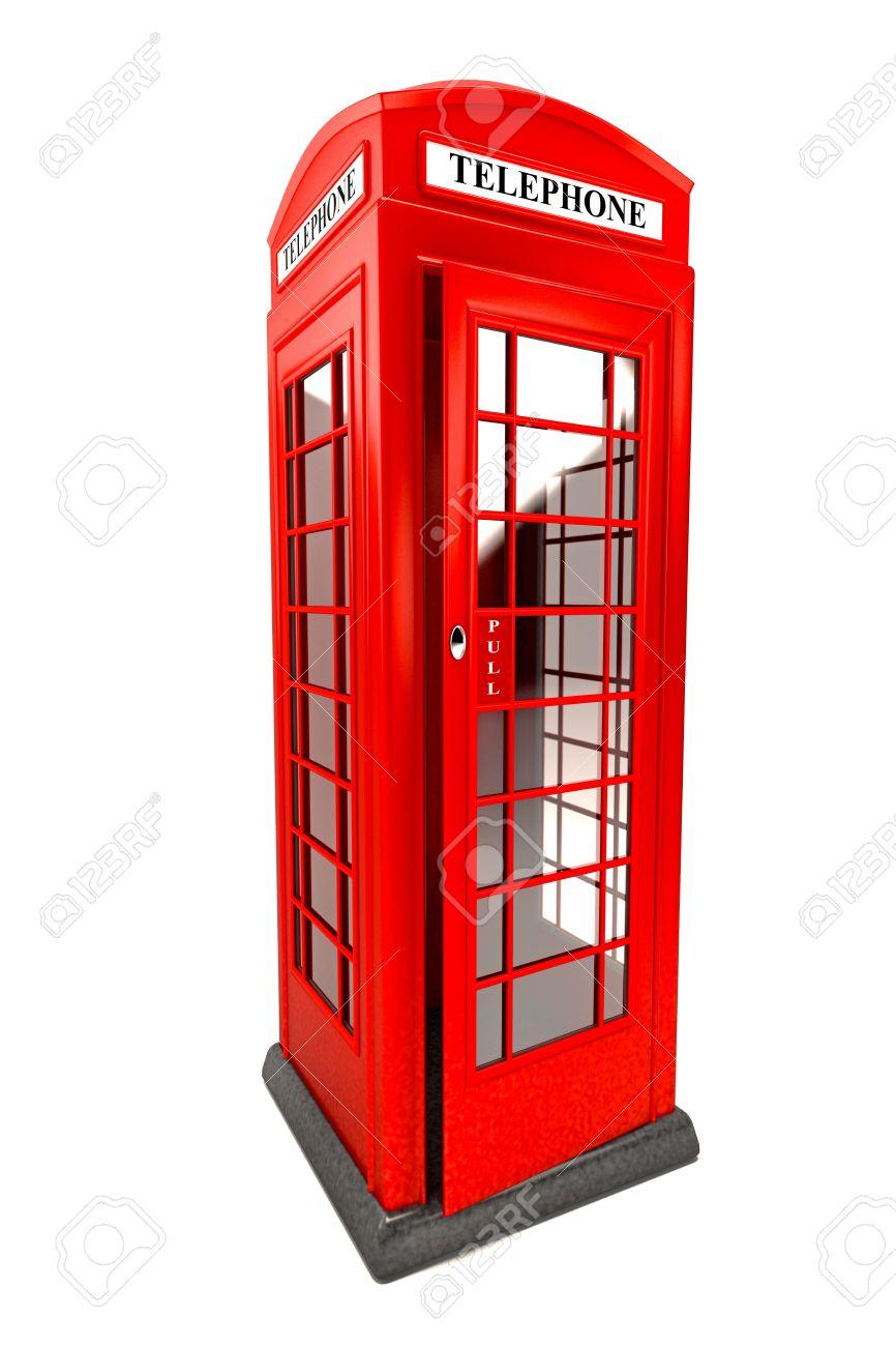 Public Telephone Booth Stock Photo - 14315378