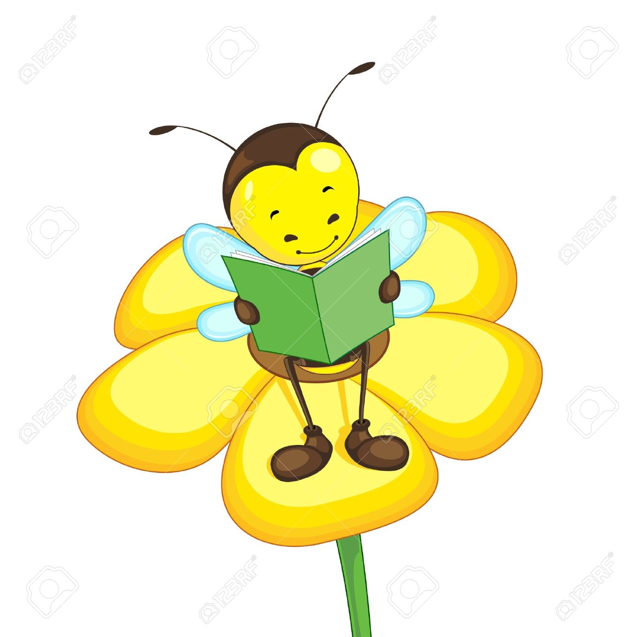 abeille fleur banque d'images, vecteurs et illustrations libres de