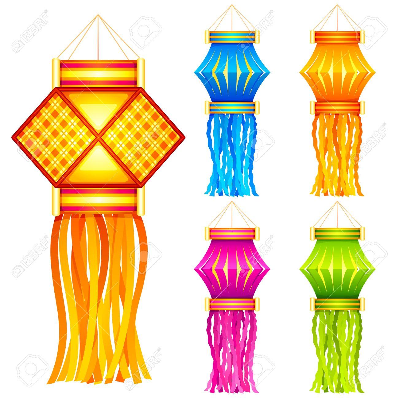 Diwali Hanging Lantern Royalty Free Cliparts, Vectors, And Stock ... for Diwali Lantern Png  110zmd