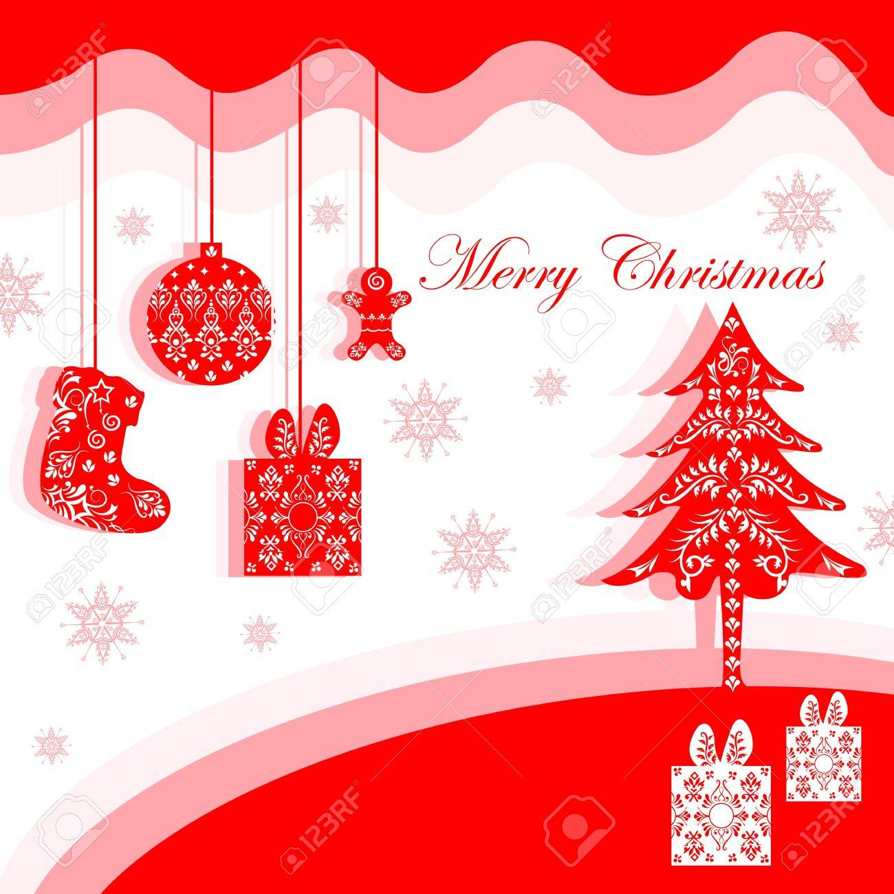 Christmas background Stock Vector - 17017798