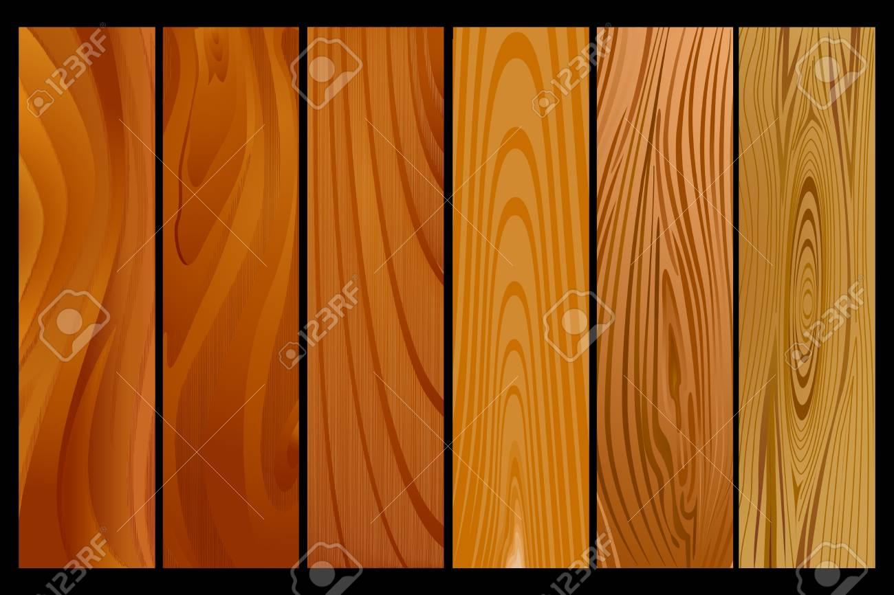 Wood Texture Stock Vector - 17017780