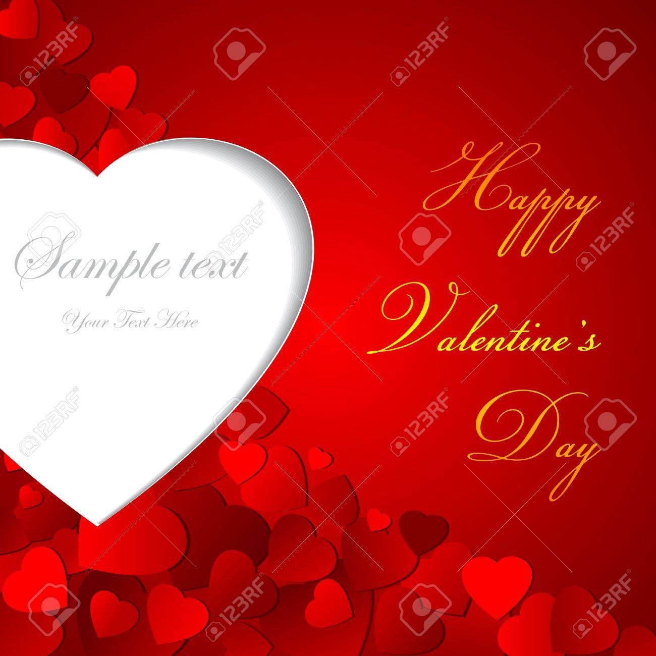Love Background Stock Vector - 17604389