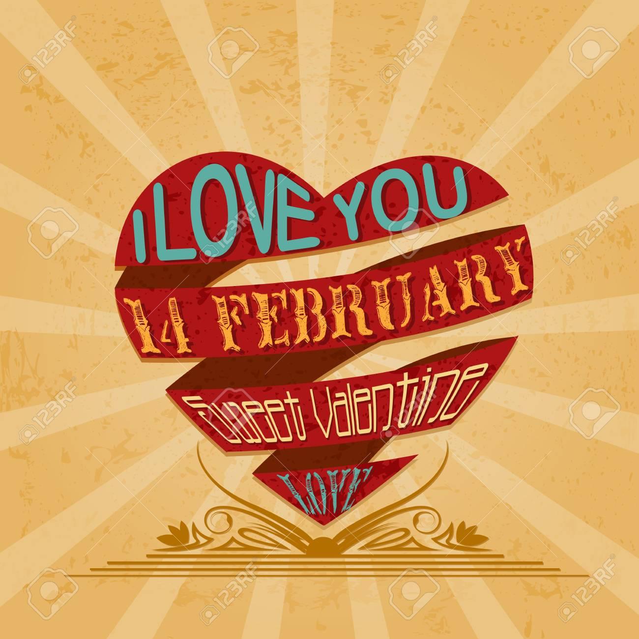 Be my Valentine Stock Vector - 17604437