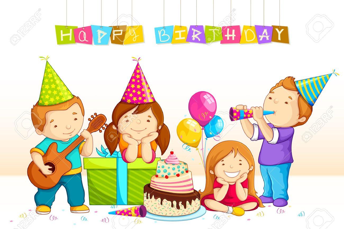 Einladung Kindergeburtstag: Kids Feiern Geburtstag