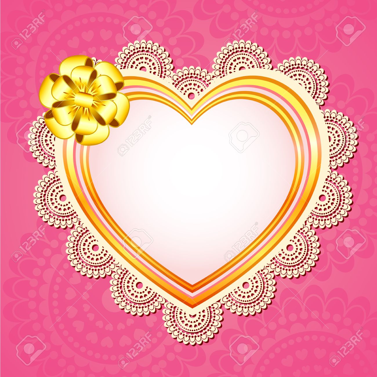 Love Frame Royalty Free Cliparts, Vectors, And Stock Illustration ...