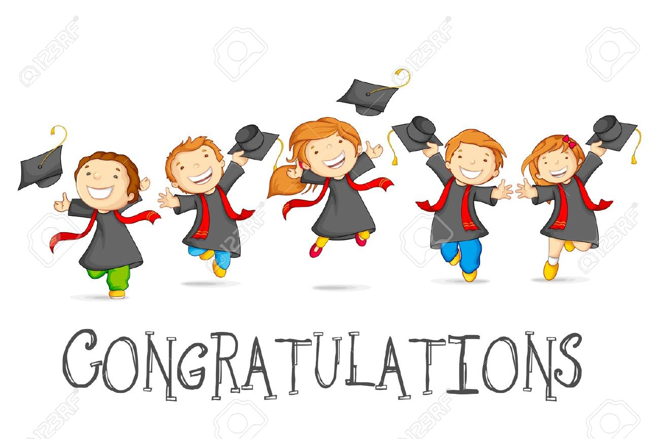 Happy Graduates Stock Vector - 18810658