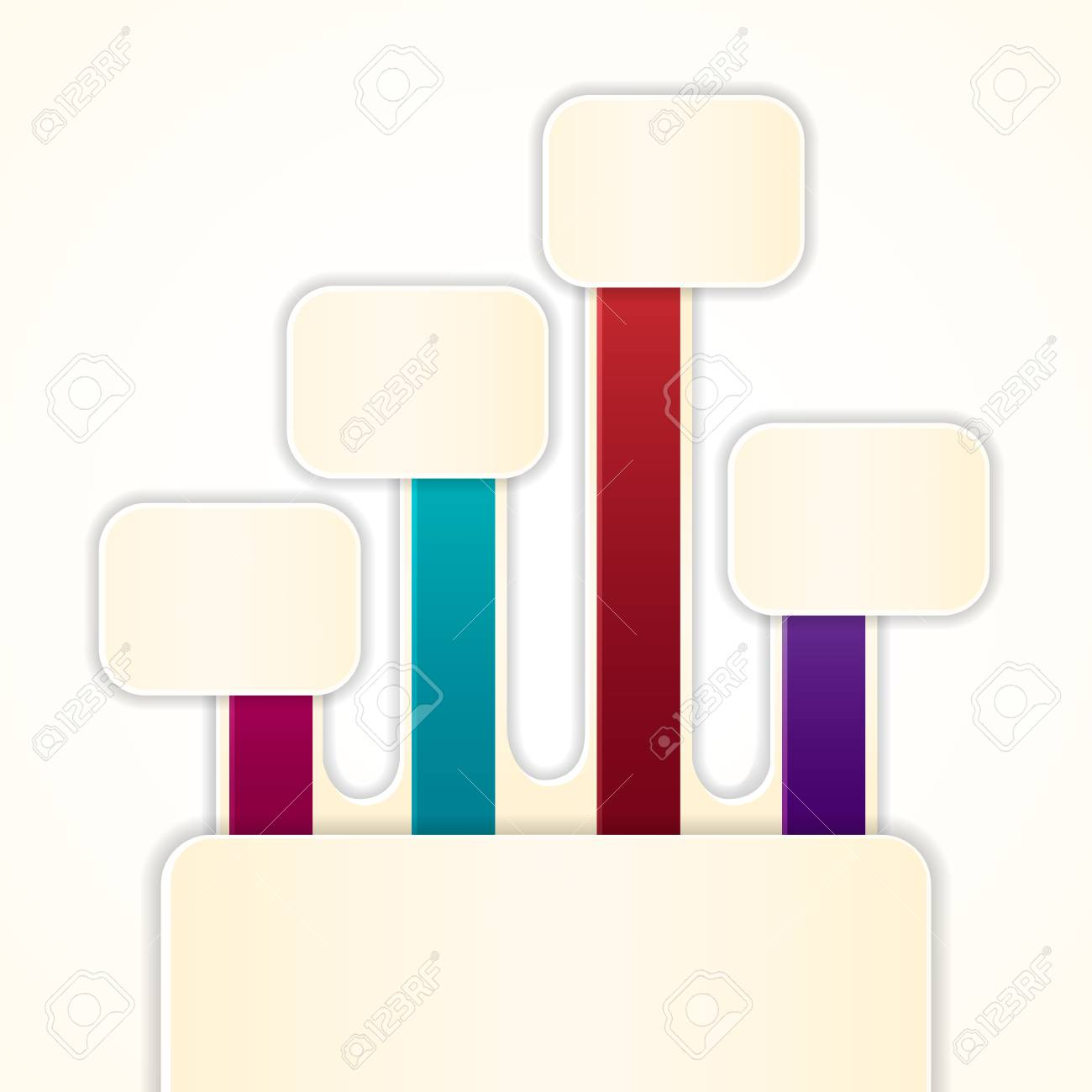 vector illustration of colorful label for different choice Stock Vector - 19504169