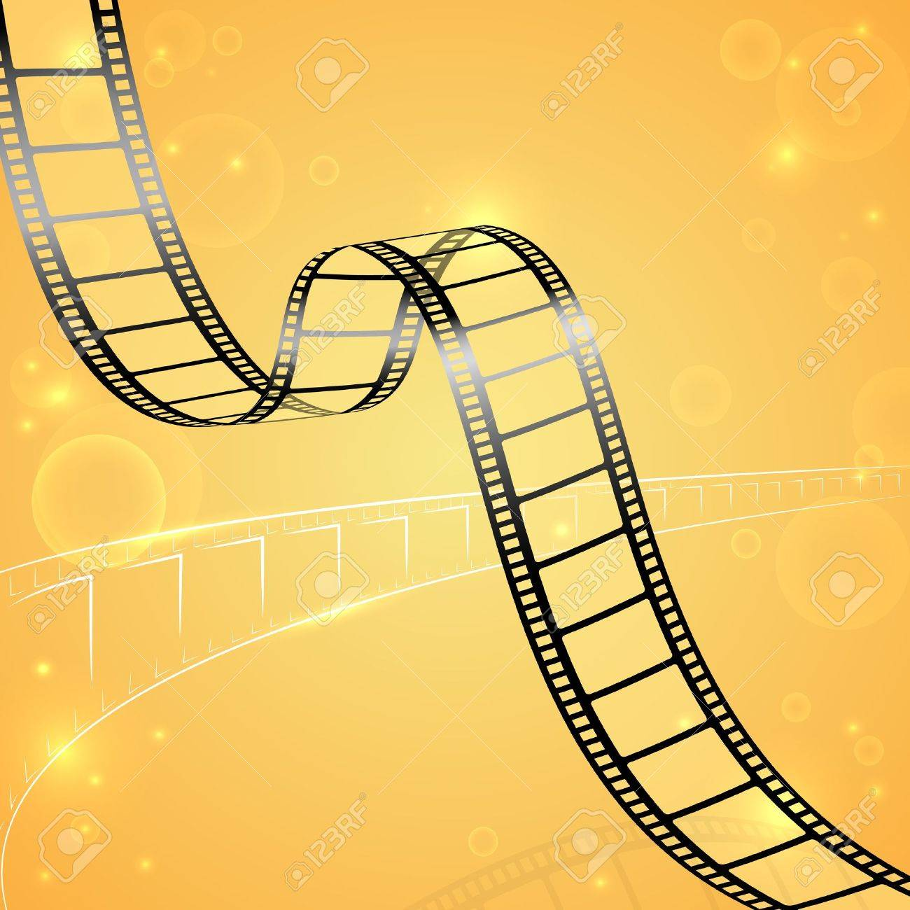 Film Strip Background Stock Vector - 19658852